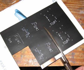 Easy Aluminum Solder Stencil