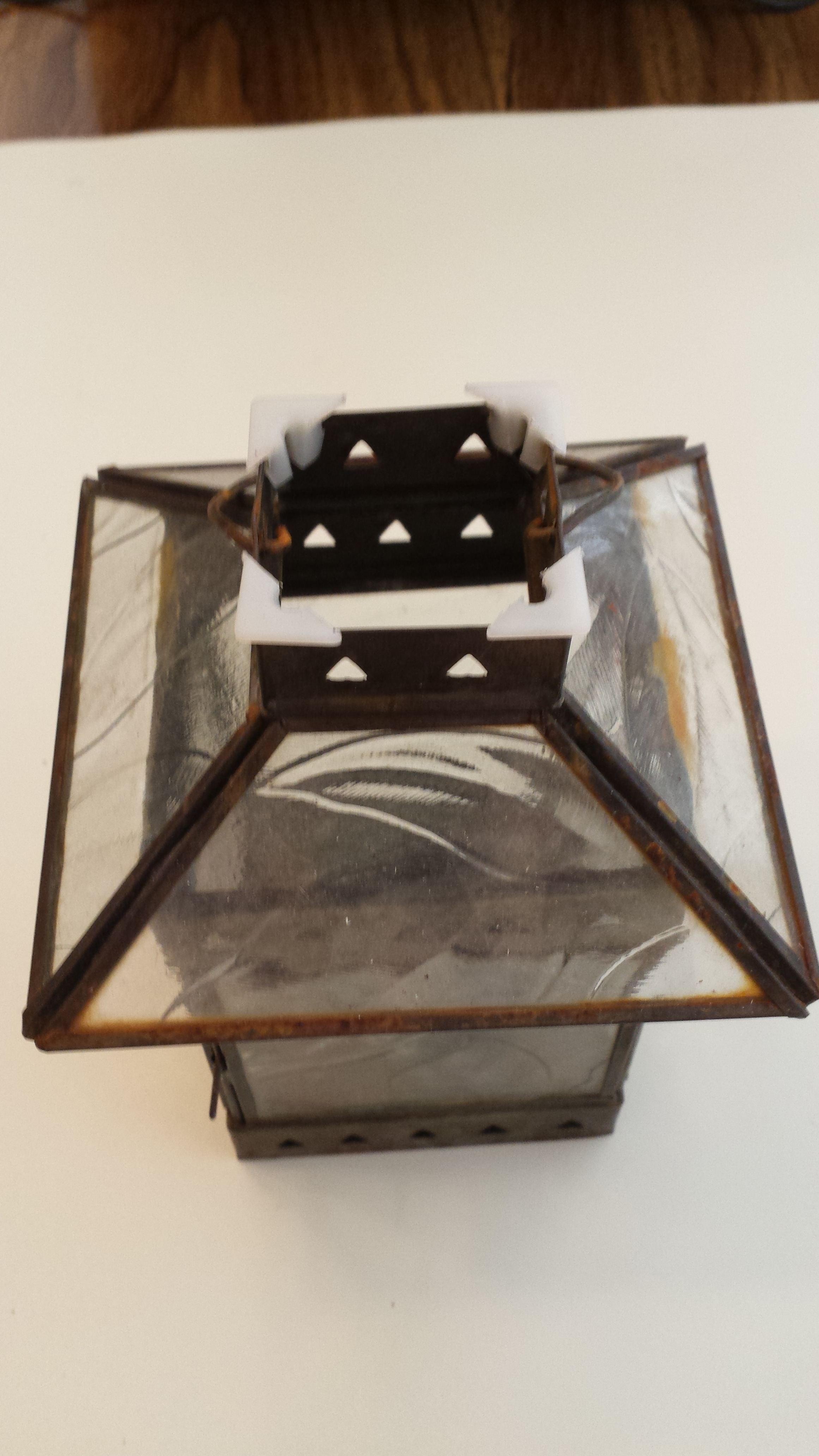 Picture of Prepare the Lantern for the Modified Electronics.