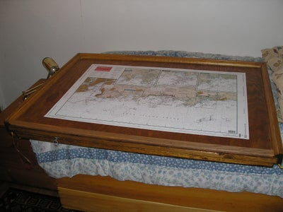 Nomad Map-table/storage Box for Horizontal or Verticle Use