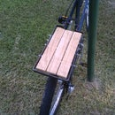Steel and Wood Bicycle Cargo Rack