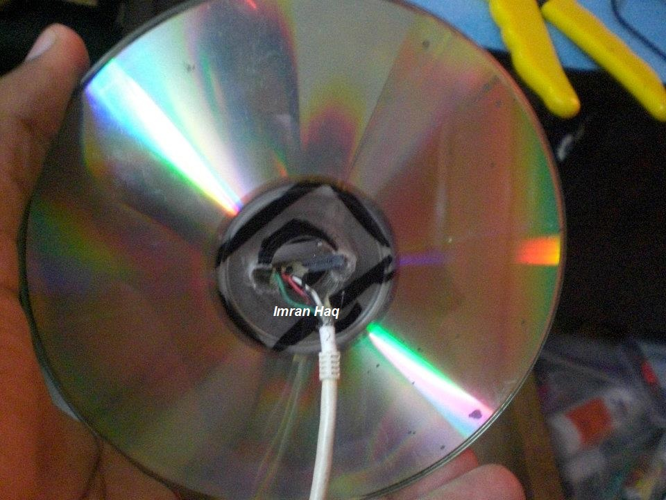 Picture of IPhone Dock Using CDs