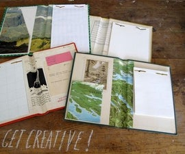 Old Book Memo Pad