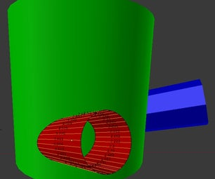 Computing Pipe Joints in Blender for Camp Stoves
