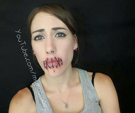 Stitched up lips - sfxmakeup