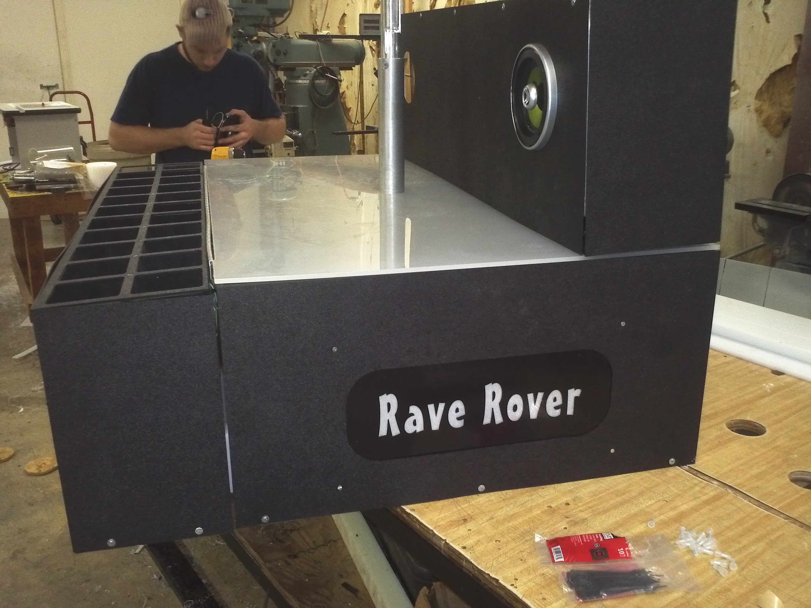 Picture of Speaker Install