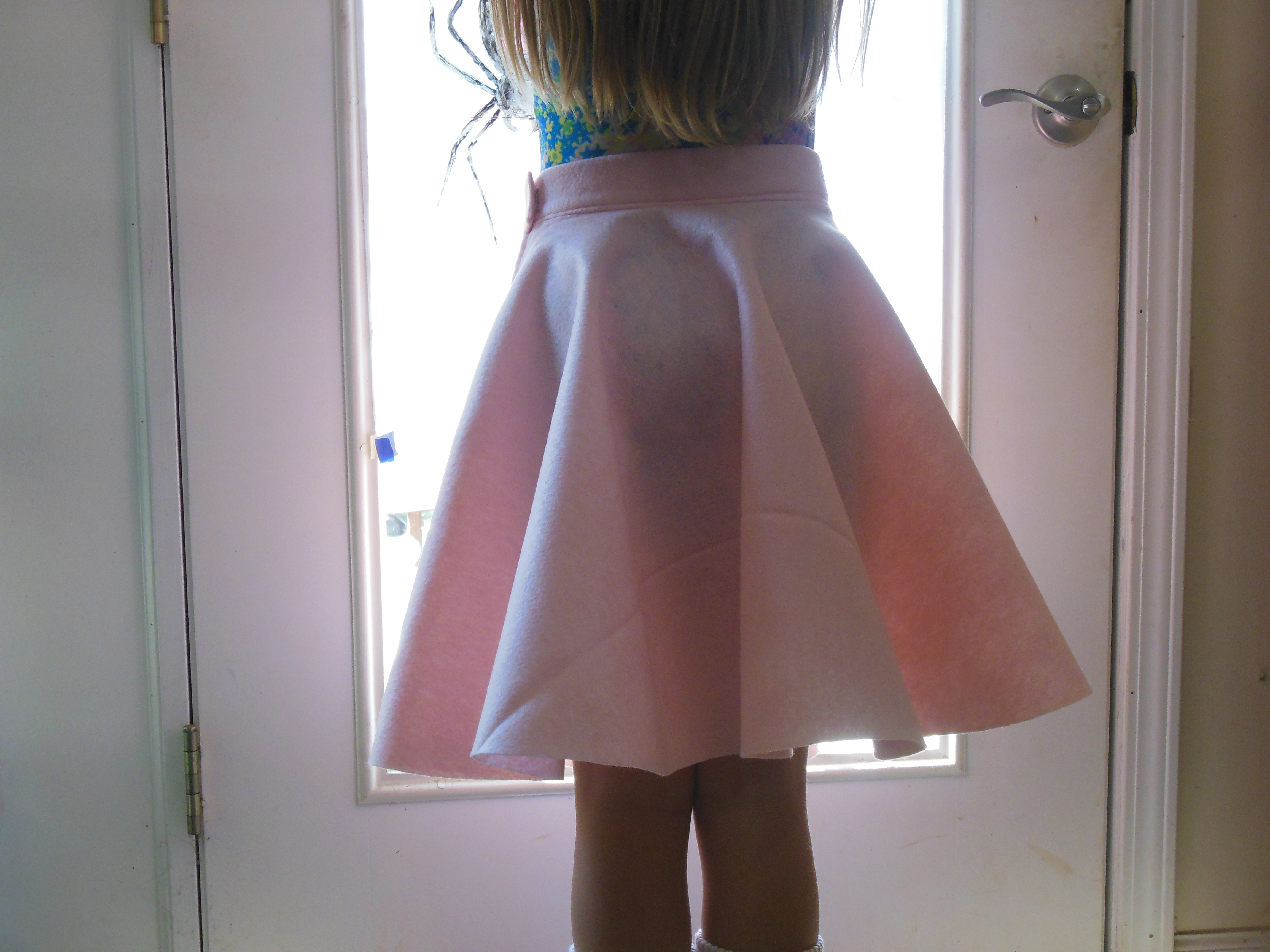 Picture of All Done With the Skirt But Is It Fluffy Enough?