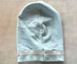 Easy Beanie From Old Sweater