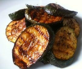 Grilled/Bbq Courgette (Zucchini)
