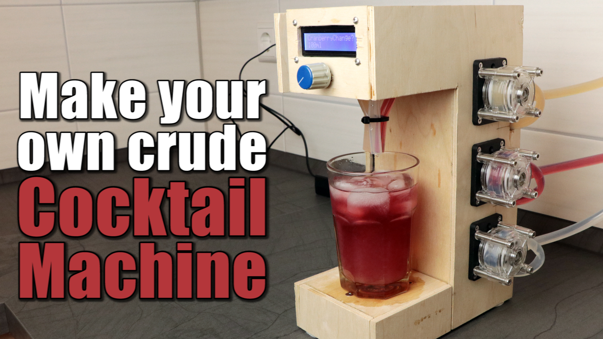 Picture of Make Your Own Crude Cocktail Machine