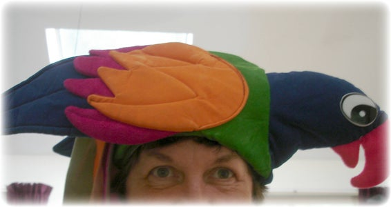 Stay Away From Parrot Hats!