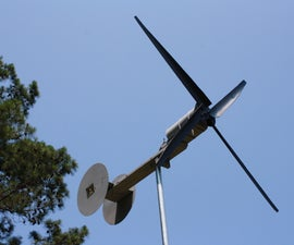 Small Wind Powered Generator