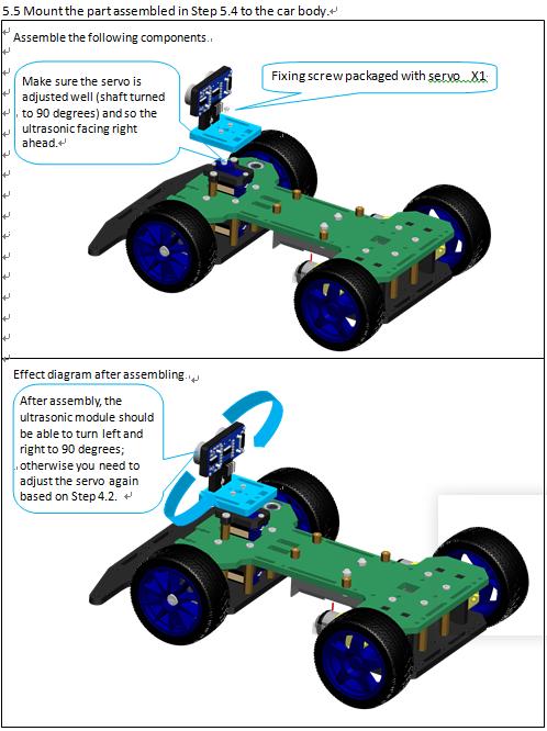 Picture of Assemble Ultrasonic Module