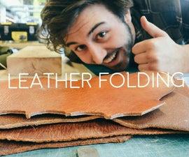 Leather Folding Techniques - Werkplaatsidc