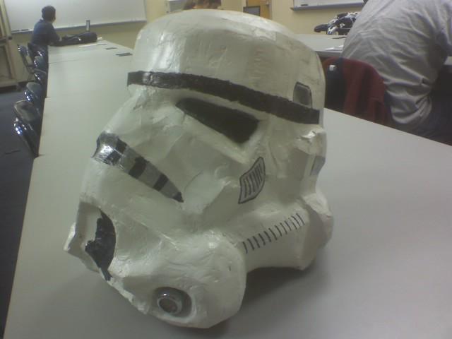 Picture of Paper Stormtrooper Helmet