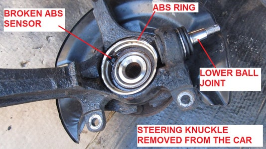 Disconnect the Steering Knuckle