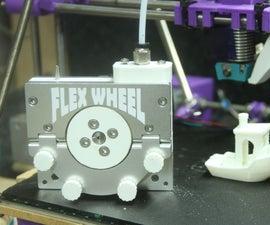 Printing Flexible Filament Through a Bowden Cable