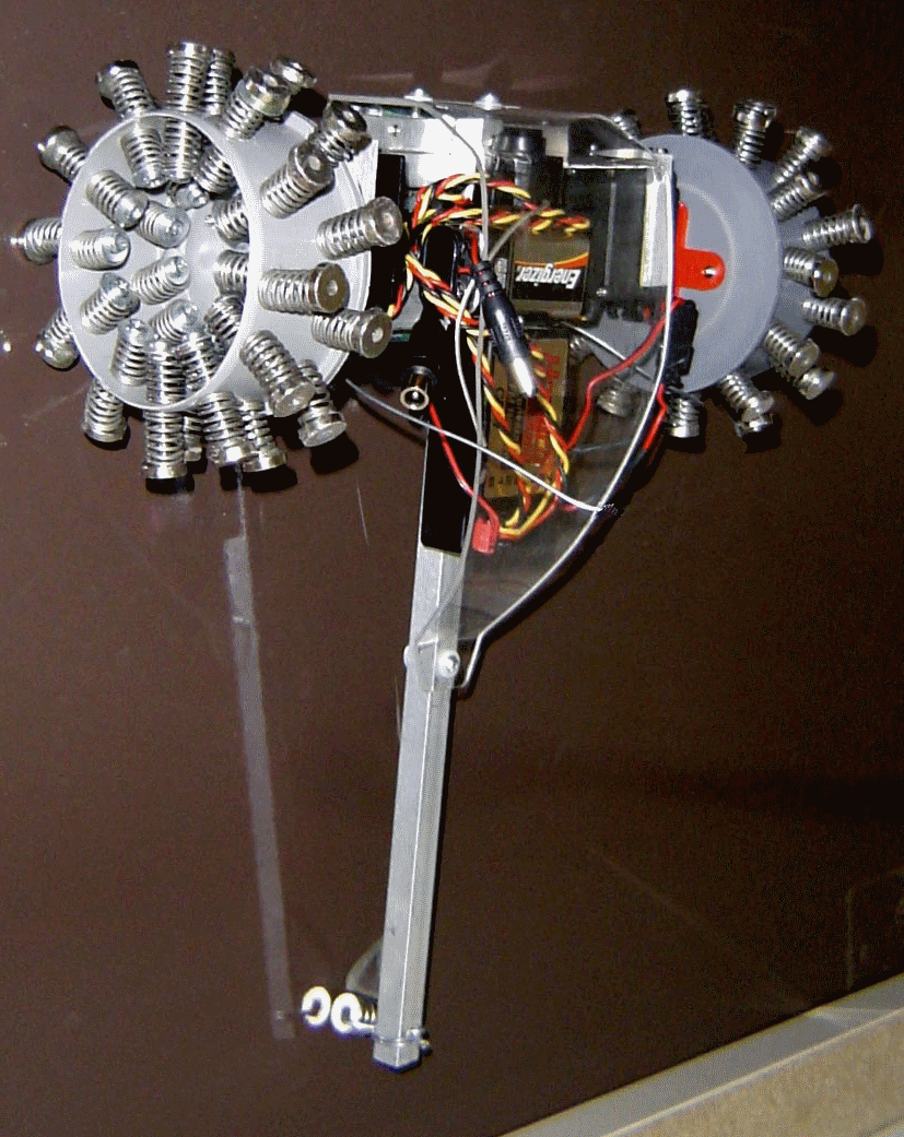 Picture of Gecko - Magnetic Wall Climbing Robot