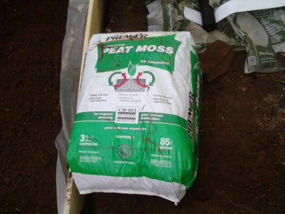 Add Soil and Peat Moss