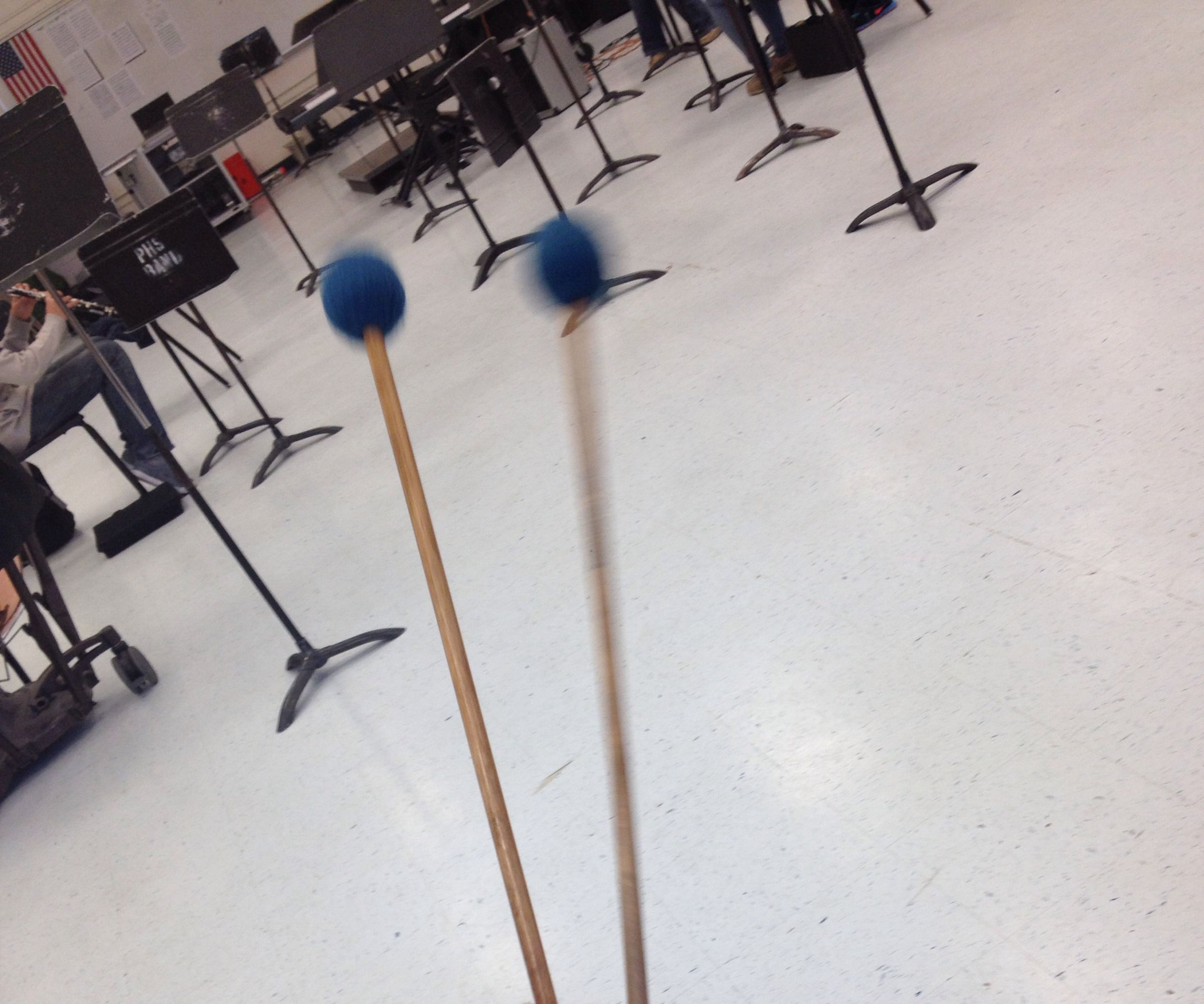 How to Hold Four Mallets Using Stevens Grip