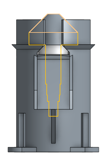 Picture of Insert the Conical Burr