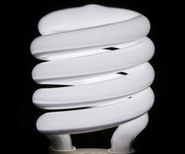 Take apart a Compact Fluorescent Bulb