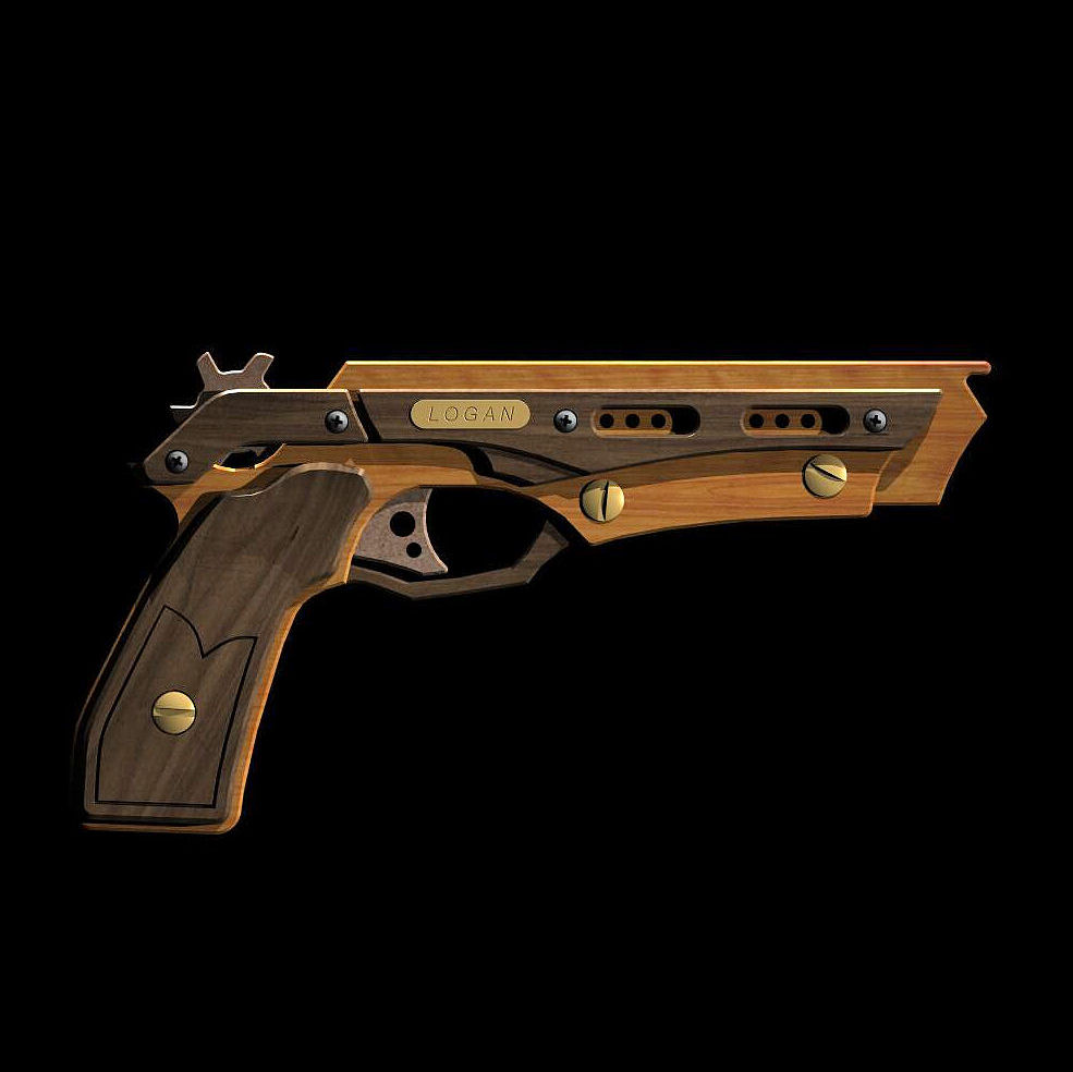 Picture of NOT JUST ANOTHER RUBBER BAND GUN