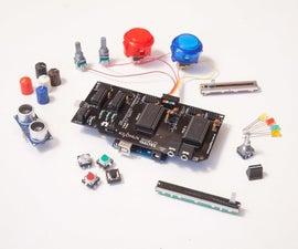 Soldadura Del Kilomux MIDI Shield Para Arduino