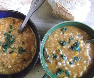 Spicy Lamb and Lentil Soup