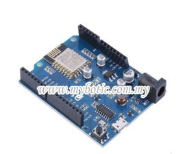 How to Use Arduino WeMos D1 WiFi UNO ESP8266 IOT IDE Compatible Board by Using Blynk