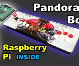 Raspberry Pi Inside Pandora's Box Arcade SuperGun System