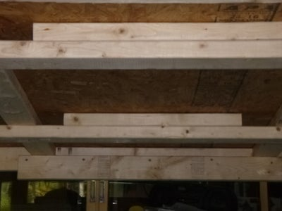 Upright Posts for Top Level.