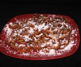 Delicious Homemade Funnel Cake