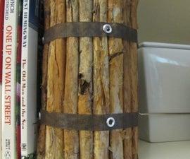 Faux Driftwood Votive {Tutorial}