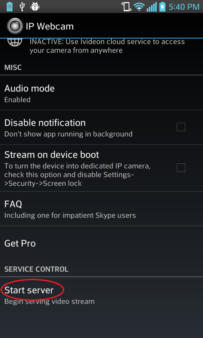 Picture of Setting Up Phone Software