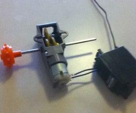 Jury Rigging A Servo To Drive A Low Voltage Motor (DIY ESC)