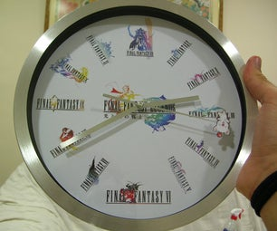 Final Fantasy Wall Clock