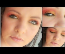Colourful Fall Makeup Look