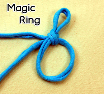 How to Crochet the Magic Ring (adjustable Ring, Magic Circle, Magic Loop)