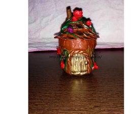Jar Fairy House