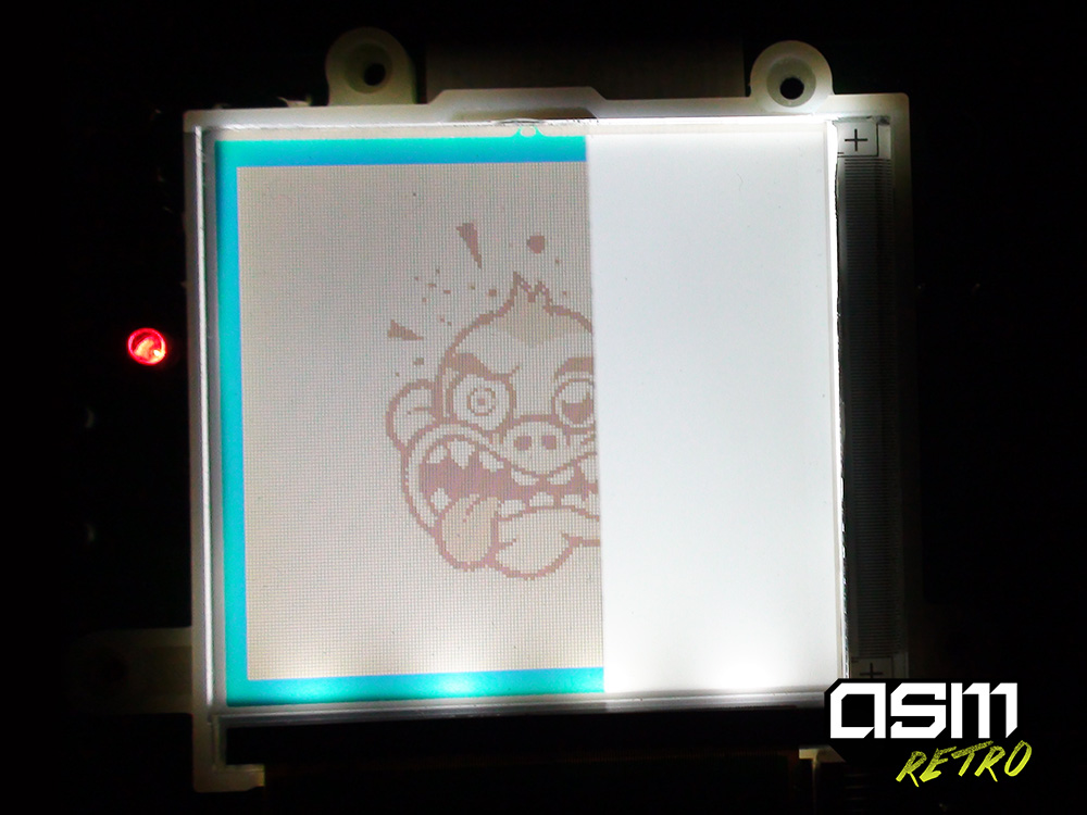Picture of Positioning the Backlight