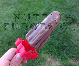 Homemade Fudgesicles Nutella