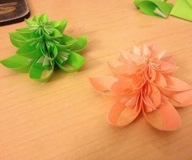 Kusudama Origami Christmas Trees