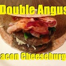 How to make Double Angus Bacon Cheeseburger Wraps with Spinach and Onions