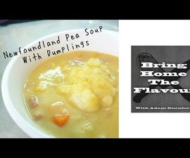 Newfoundland Pea Soup With Dumplings