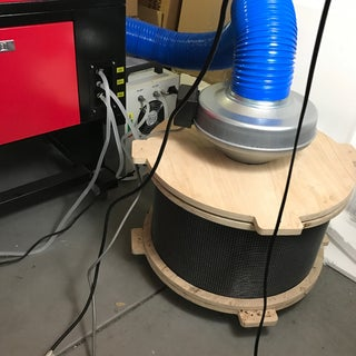 Build a Laser Cutter Fume Extractor