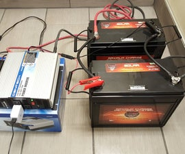DIY Size & Build a Battery Power Backup Generator W/ 12V Deep Cycle Batteries