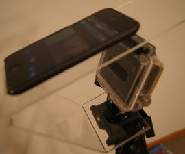 How to Properly Cut, Drill and Bend Plexiglas to make a multi-use gopro tripod.