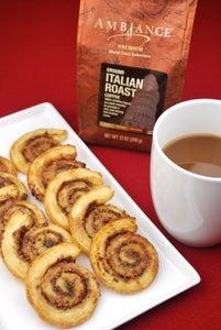 Chocolate-Coffee Pinwheels