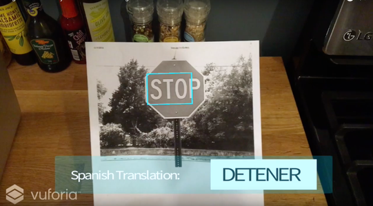Augmented Reality Tutorial: Text Recognition