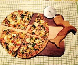 Saw Handle Pizza Cutter